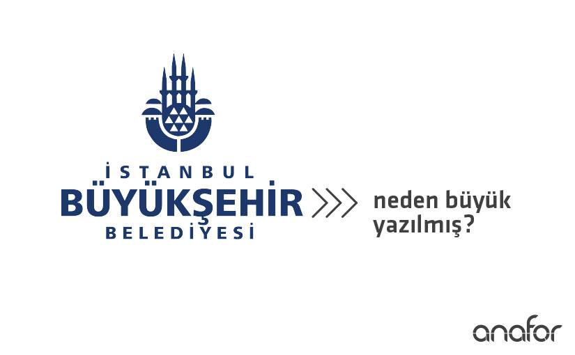 """Büyükşehir Belediye Logolarında """"Büyükşehir"""" neden büyük yazılır?"""